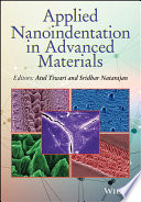 Applied Nanoindentation in Advanced Materials Book