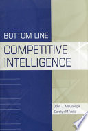 Bottom Line Competitive Intelligence Book