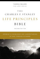 KJV  Charles F  Stanley Life Principles Bible  2nd Edition  eBook