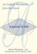 A Season in Hell Pdf/ePub eBook