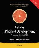 Beginning iPhone 4 Development