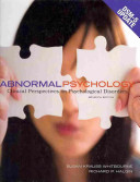 Abnormal Psychology  Clinical Perspectives on Psychological Disorders with DSM 5 Update