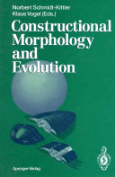 Constructional Morphology and Evolution