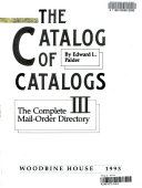 The Catalog of Catalogs III