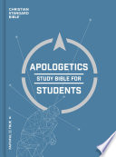 CSB Apologetics Study Bible for Students  Hardcover Book