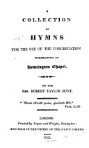 A Collection of Hymns for the Use of the Congregation Worshipping at Kennington Chapel ebook