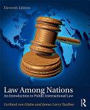 Pdf Law Among Nations