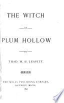 The Witch of Plum Hollow Book