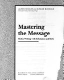 Mastering the Message Book