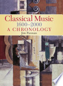 """""""A Chronology Of Western Classical Music 1600-2000"""" by Jon Paxman"""