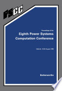 Proceedings of the Eighth Power Systems Computation Conference