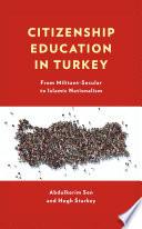 Citizenship Education in Turkey
