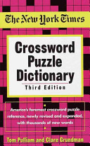 The New York Times Crossword Puzzle Dictionary