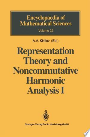 Download Representation Theory and Noncommutative Harmonic Analysis I Free PDF Books - Free PDF