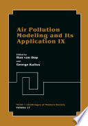 Air Pollution Modeling and Its Application IX
