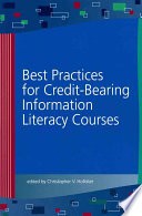 Best Practices for Credit-bearing Information Literacy Courses