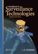Handbook of Surveillance Technologies