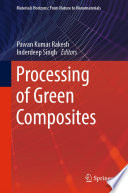 Processing Of Green Composites Book PDF