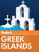 Fodor's Greek Islands
