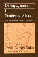 Disengagement from Southwest Africa Pdf/ePub eBook