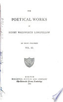 The Poetical Works of Henry Wadsworth Longfellow  Christus   a mystery    contains  I  The divine tragedy  II  The golden legend  III  The New England tragedies Book PDF