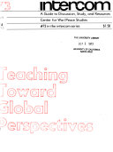 Teaching Toward Global Perspectives Book