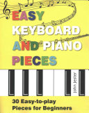 Easy Keyboard and Piano Pieces Book
