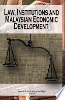 Law Institutions And Malaysian Economic Development