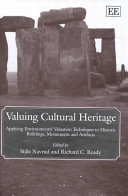 Valuing Cultural Heritage