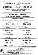 Pdf The Criminal Law Journal