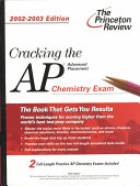 Cracking the AP Chemistry  2002 2003 Edition
