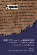 Matthew  James  and Didache