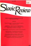 Slavic Review