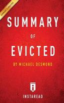 Evicted Summary   Analysis Book