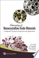 Chemistry of Nanocrystalline Oxide Materials