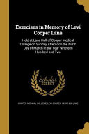 EXERCISES IN MEMORY OF LEVI CO