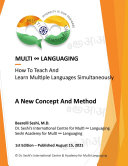 Pdf Multi-Languaging: How to Teach and Learn Multiple Languages Simultaneously, A New Concept and Method Telecharger