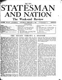 The New Statesman And Nation