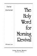 Daniel, Zechariah