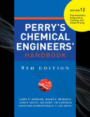 PERRY'S CHEMICAL ENGINEER'S HANDBOOK 8/E SECTION 12 PSYCHROMETRY,EVAPO... (POD)