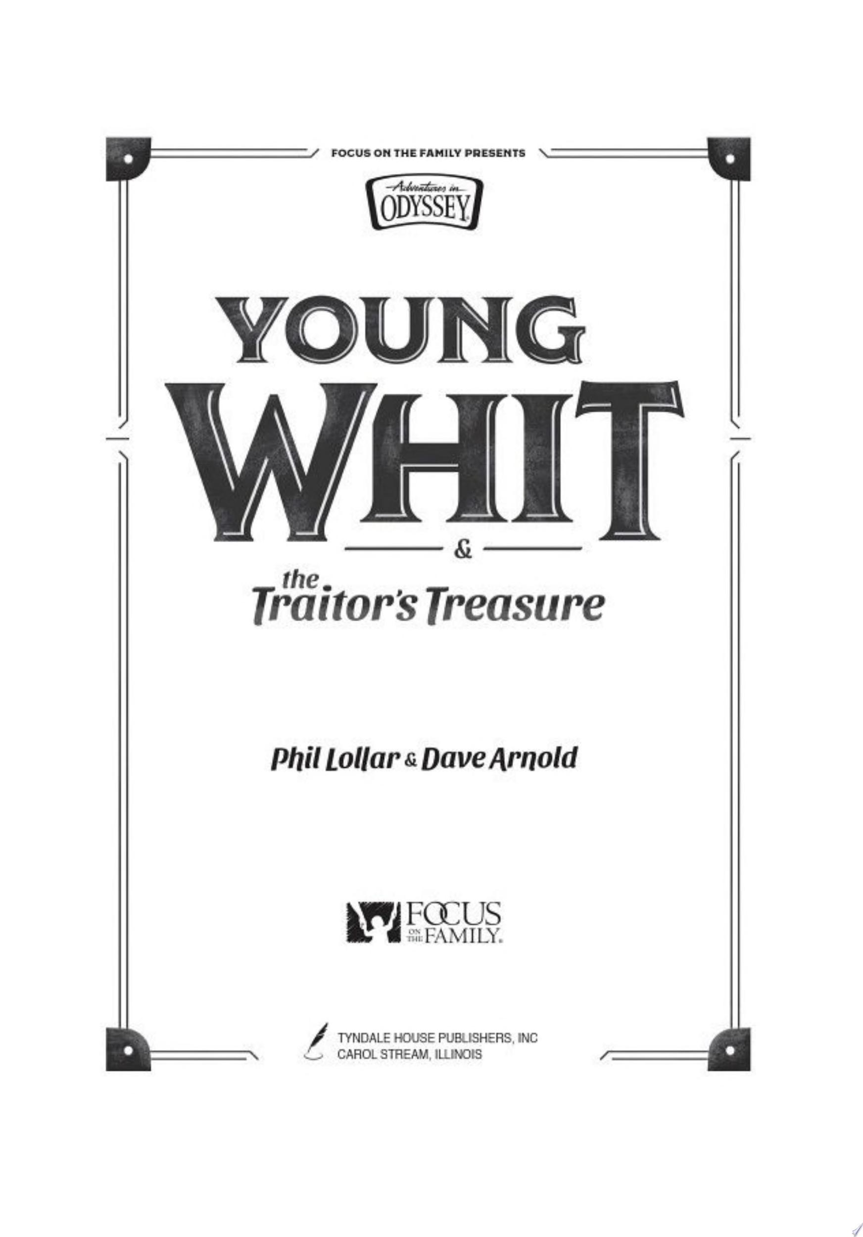 Young Whit and the Traitor s Treasure