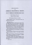 Proceedings, American Philosophical Society (vol. 5, no. 48) Pdf