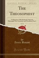 The Theosophist Vol 30
