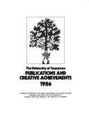 The University of Tennessee Publications and Creative Achievements