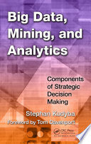 Big Data  Mining  and Analytics