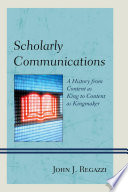 Scholarly Communications Book