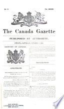 Canada Gazette