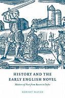 Pdf History and the Early English Novel