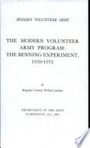 The Modern Volunteer Army Program