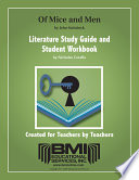 Of Mice and Men Study Guide and Student Workbook Book